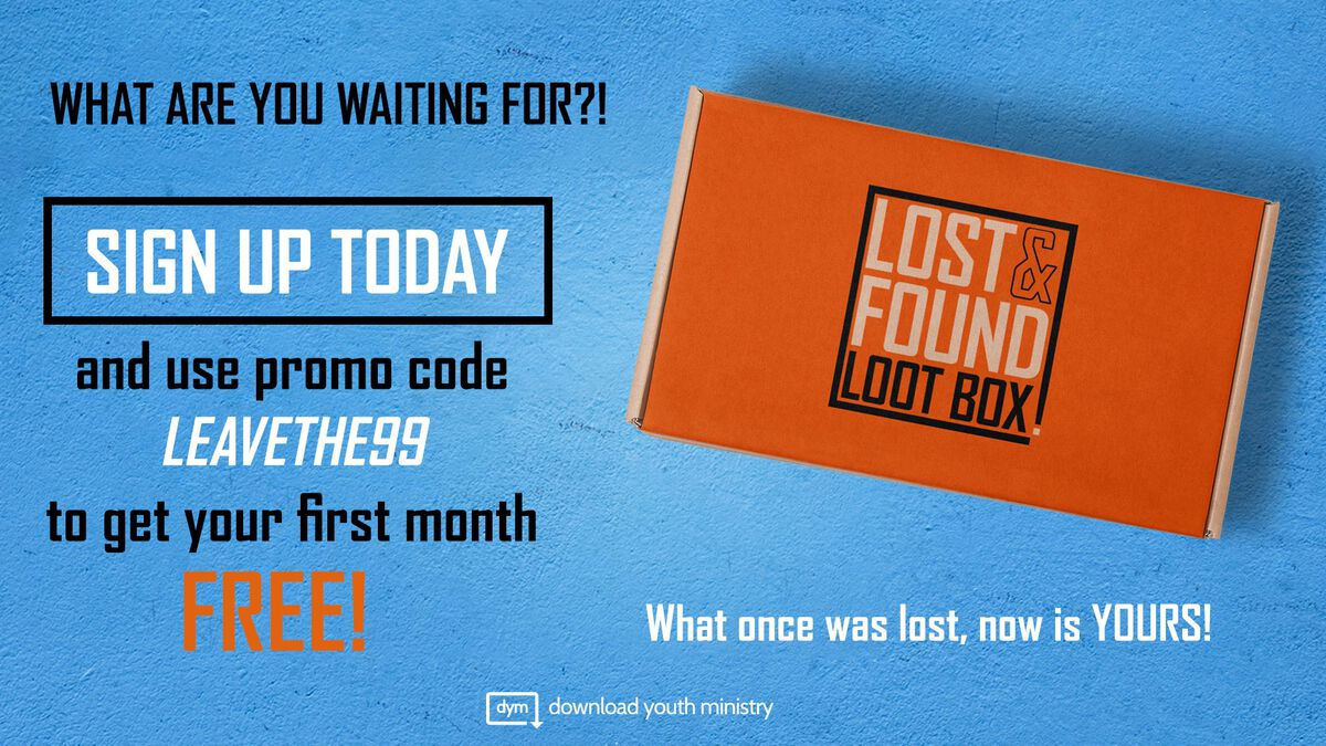 Youth Ministry Lost & Found Lootbox image number null