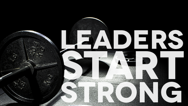 Leaders Start Strong