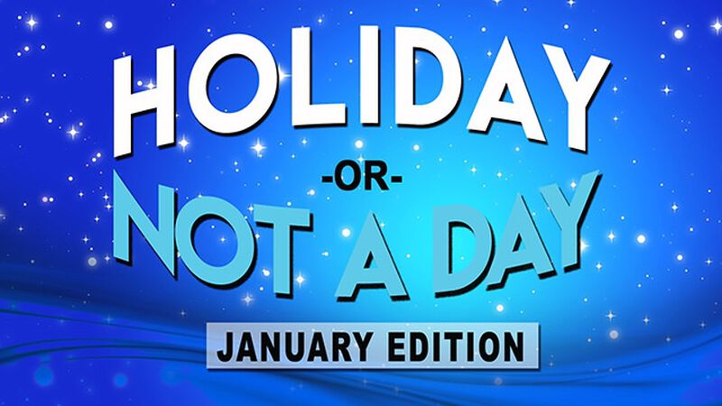 Holiday or Not a Day: January