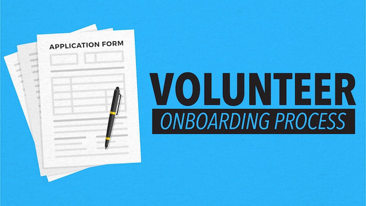 Volunteer On-Boarding Process image number null