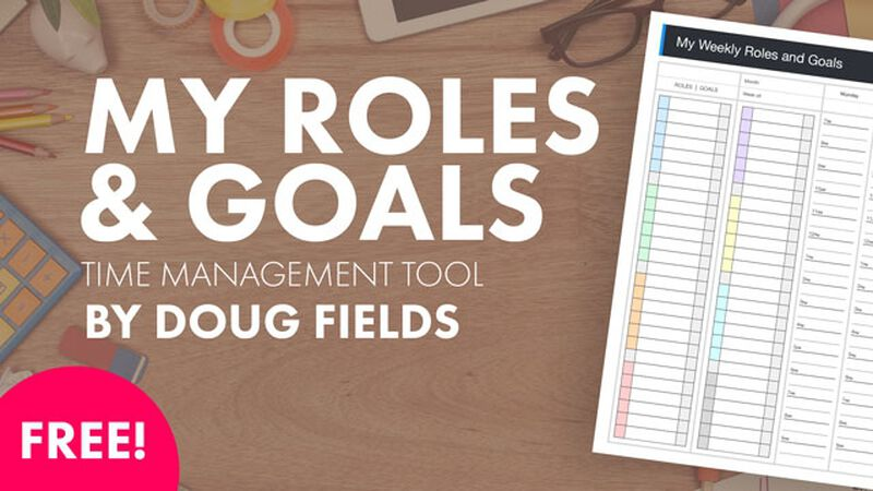 FREE Time Management Tool by Doug Fields