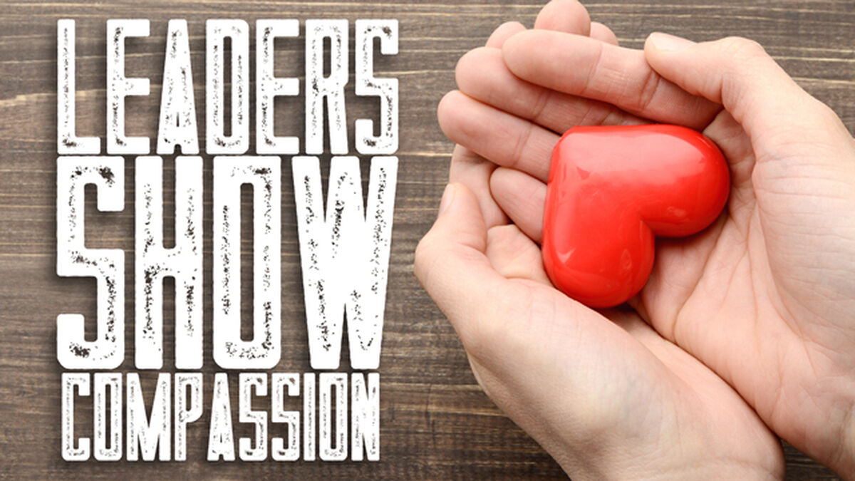 Leaders Show Compassion image number null