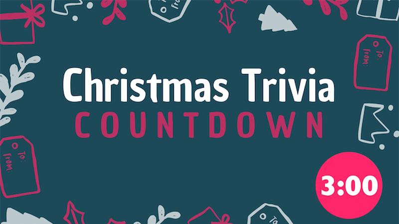 Christmas Trivia Countdown