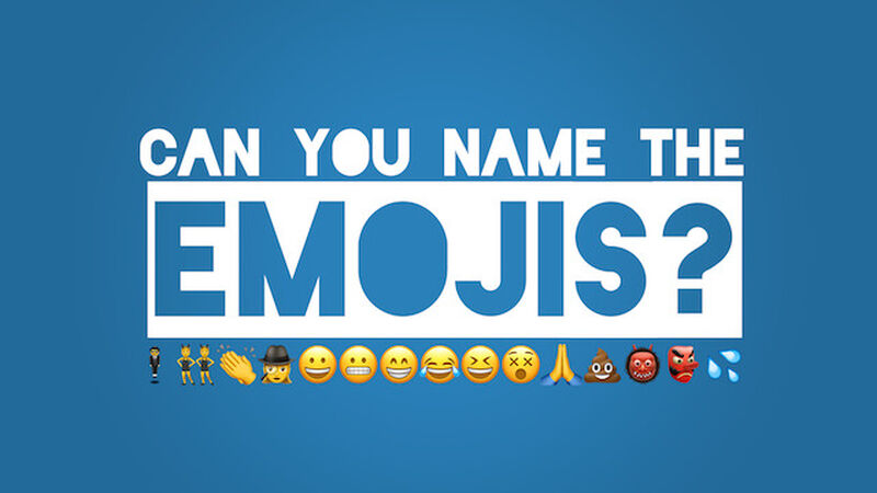 Can You Name the Emojis?