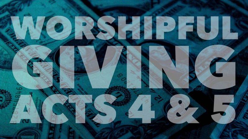 Worshipful Giving