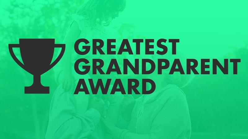 FREEBIE: Greatest Grandparent Award