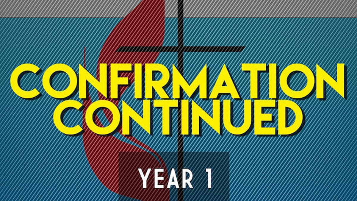 Confirmation Continued – Year One image number null