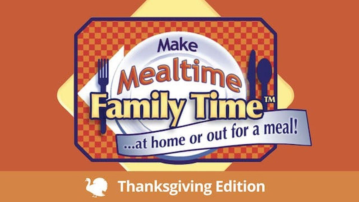 Make Mealtime Family Time: Thanksgiving Celebration Kit #1 image number null