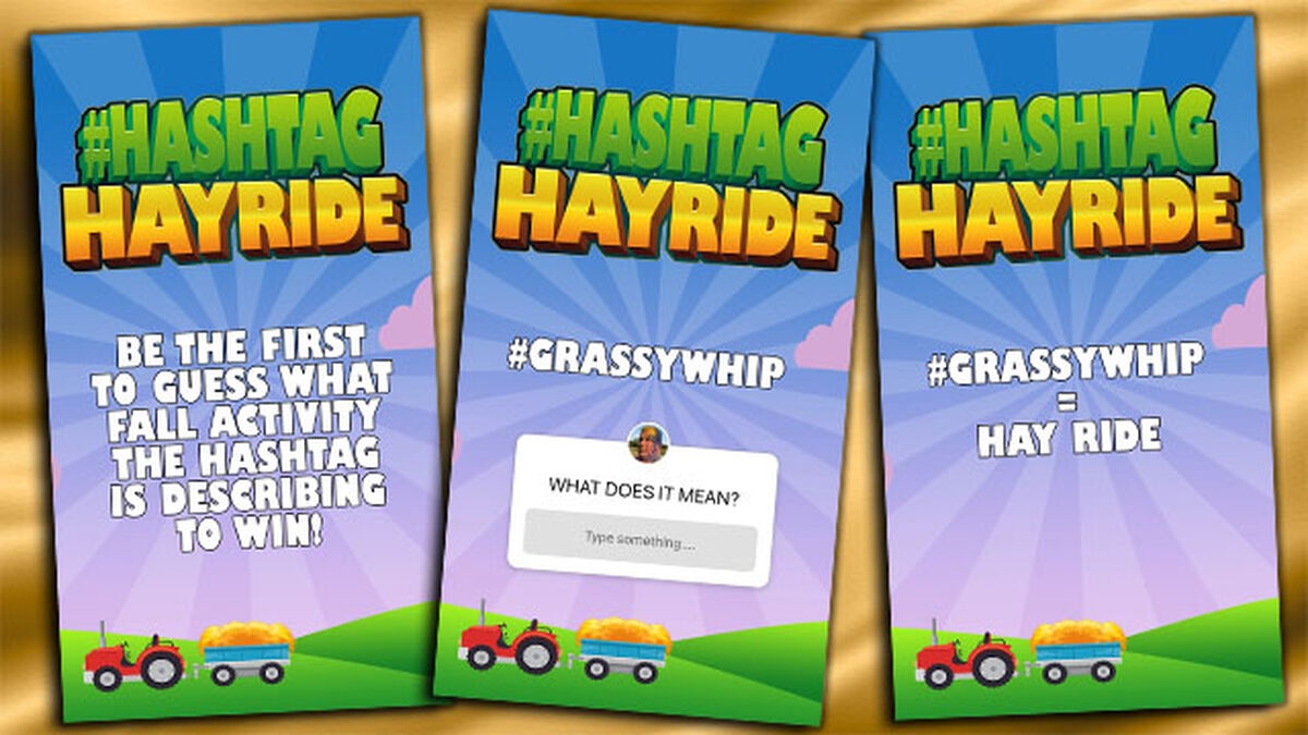 Hashtag Hayride image number null