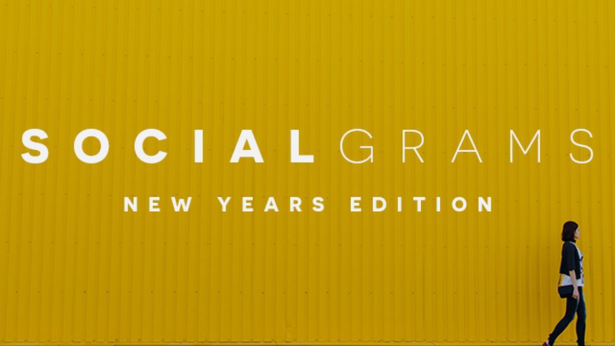 SocialGrams: New Year's Edition image number null