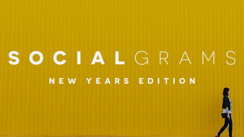 SocialGrams: New Year's Edition