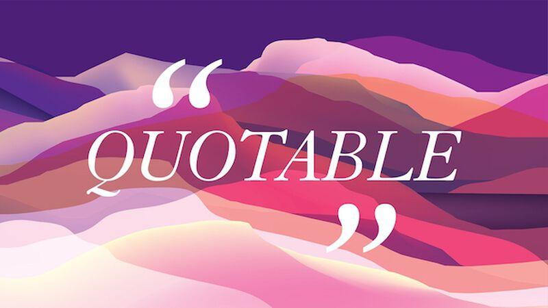 Viva! Quotable
