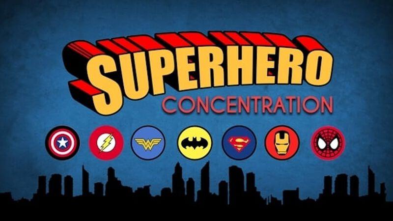 Concentration - Superhero Edition