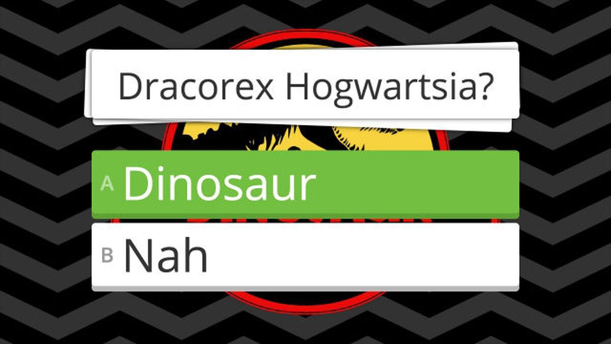 Dinosaur or Nah image number null