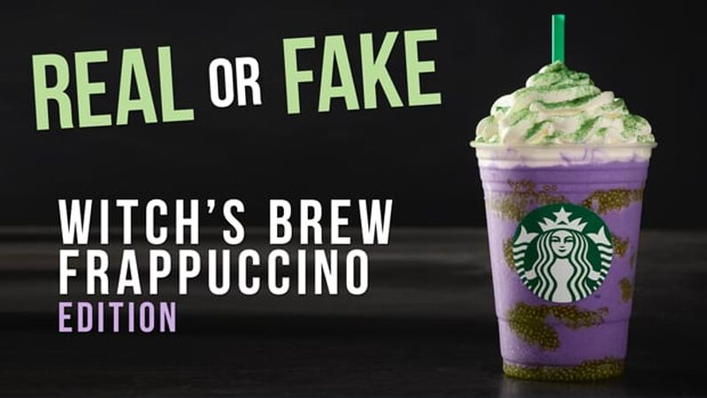 REAL OR FAKE: Witch's Brew Frappuccino Edition