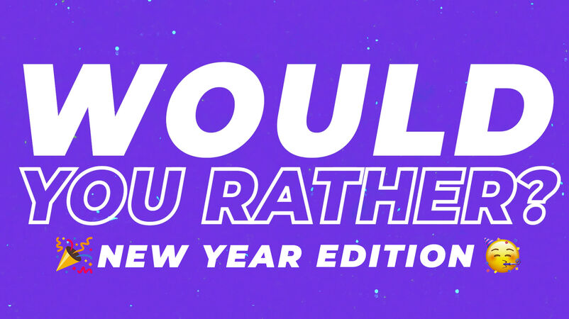 Would You Rather Countdown New Year Emoji Edition