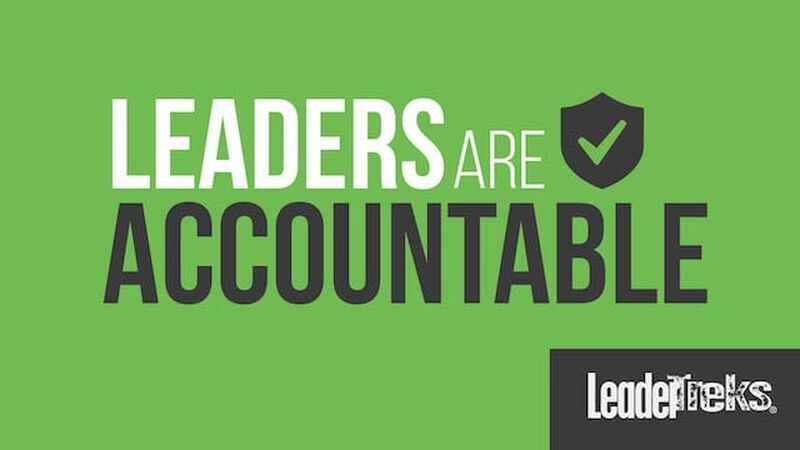 Leaders are Accountable