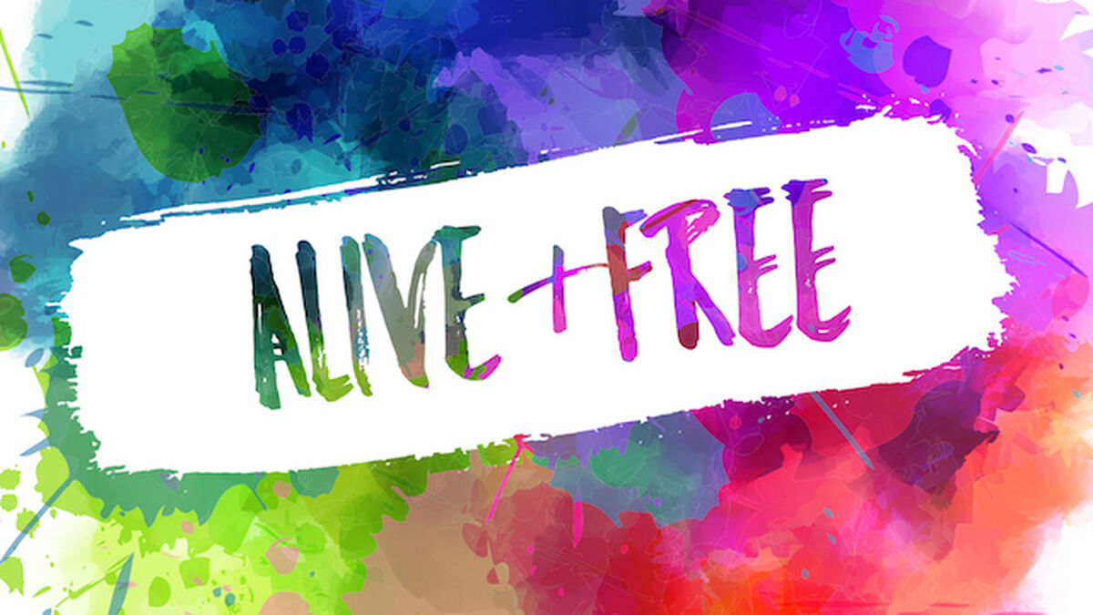 Alive & Free image number null