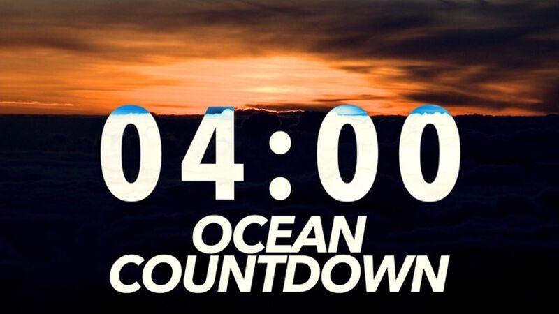 Ocean Countdown Clock