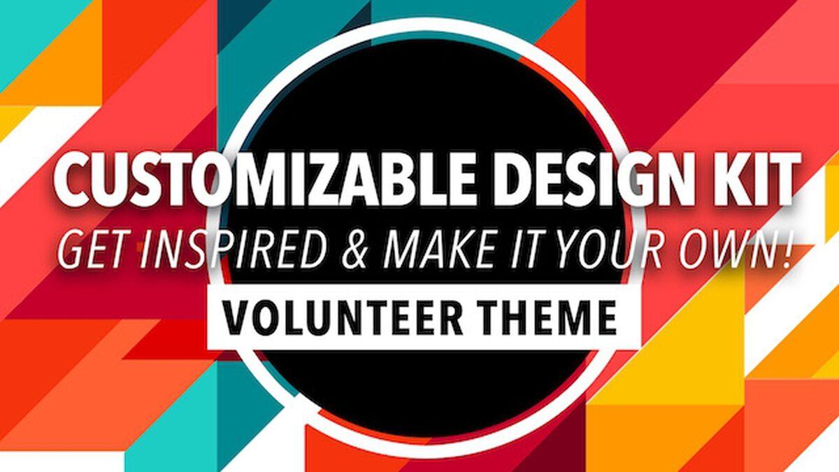 Customizable Design Kit: Volunteer Theme image number null