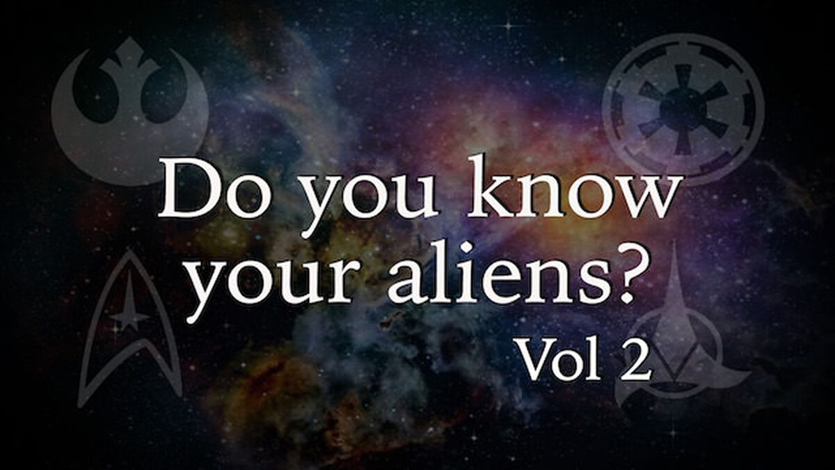 Do You Know Your Aliens? Volume 2 image number null