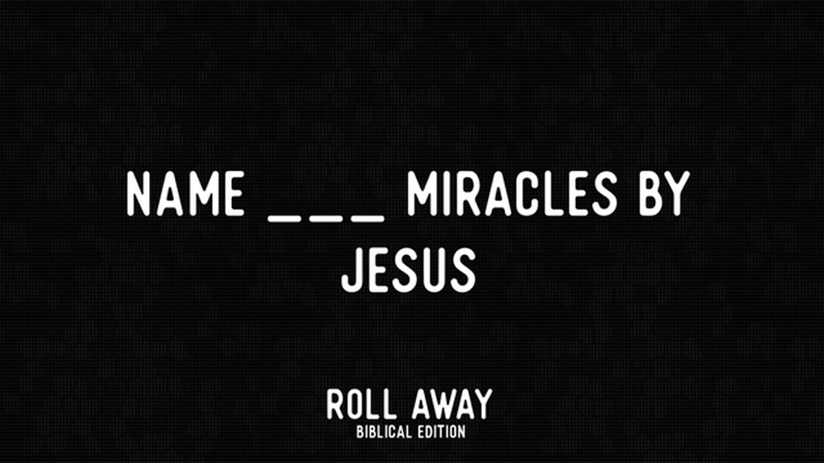 Roll Away: Biblical Edition image number null