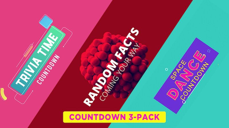 3 Countdown Videos Bundle