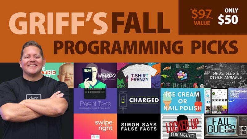 My Fall Programming Picks