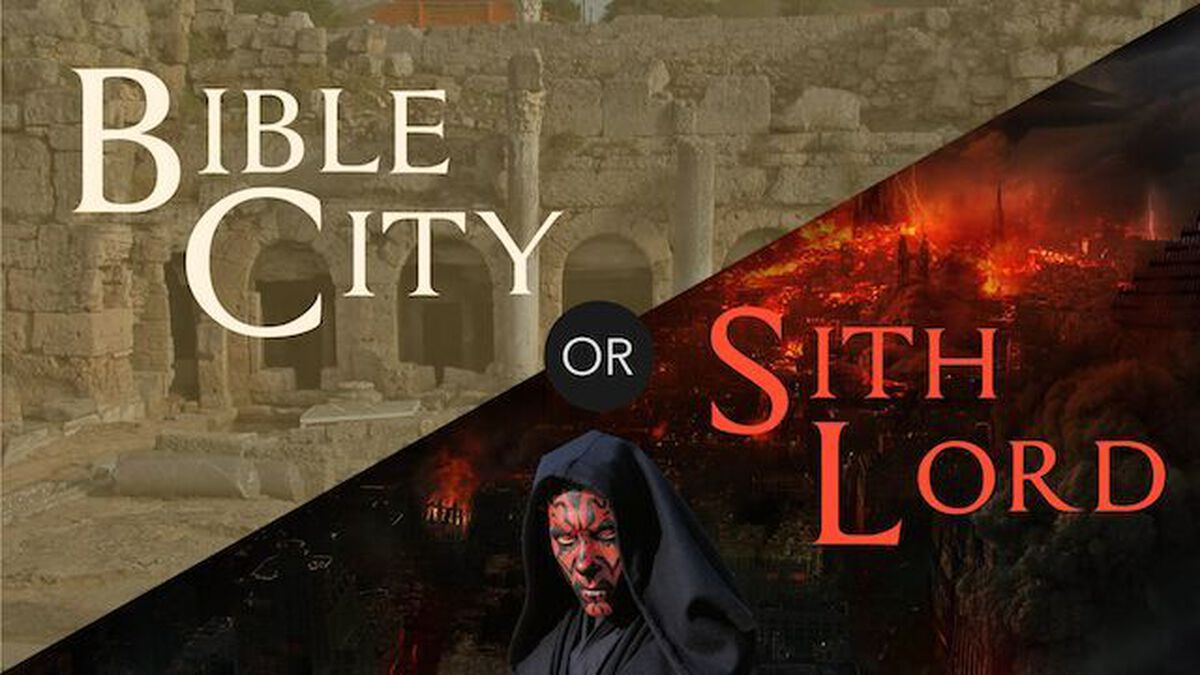 Bible City or Sith Lord image number null