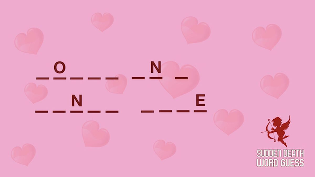 Sudden Death Word Guess: Valentine's Edition image number null