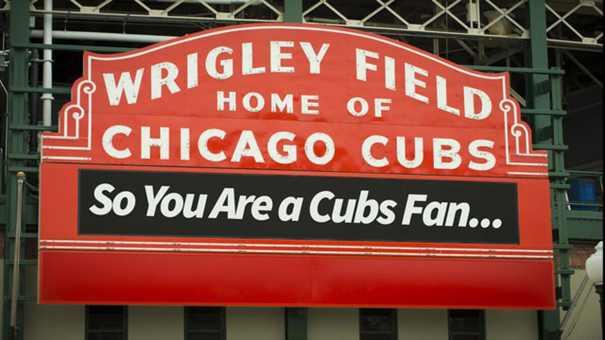 So You Are A Cubs Fan... image number null