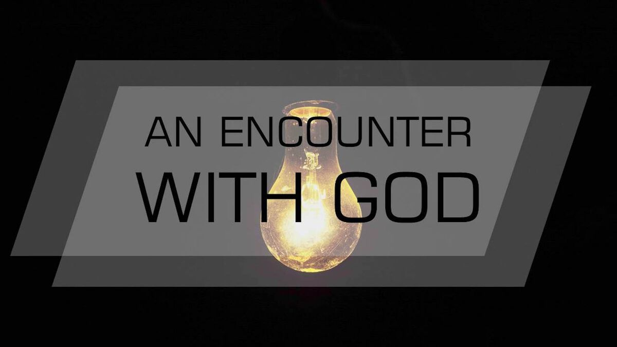 An Encounter with God image number null