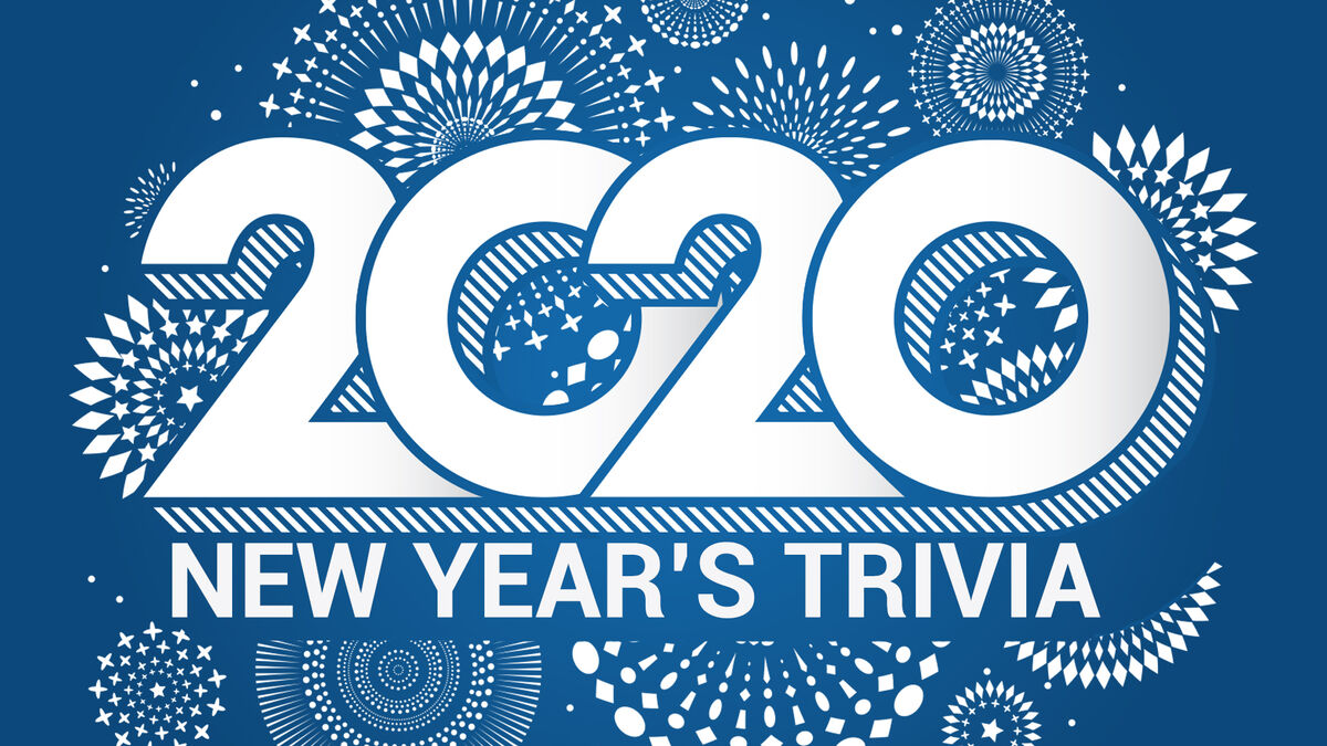 2020 New Year's Trivia image number null