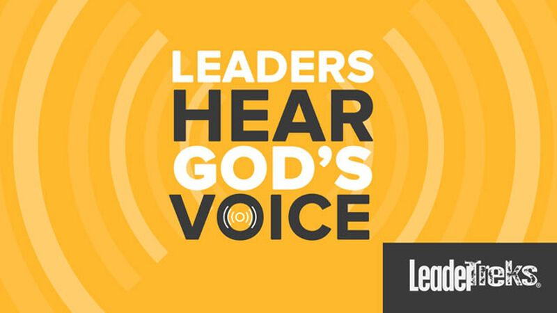 Student Leaders Hear God's Voice