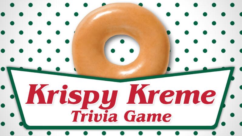 Krispy Kreme Trivia Quiz!