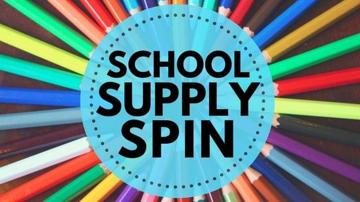 School Supply Spin image number null