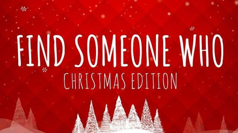Find Someone Who: Christmas Edition