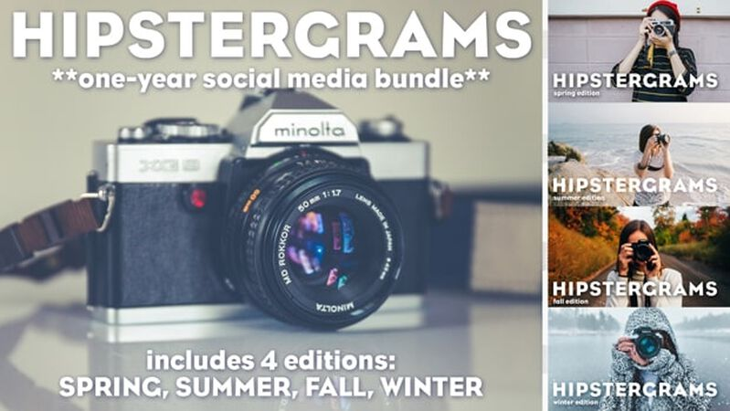 Hipstergrams: One Year Bundle