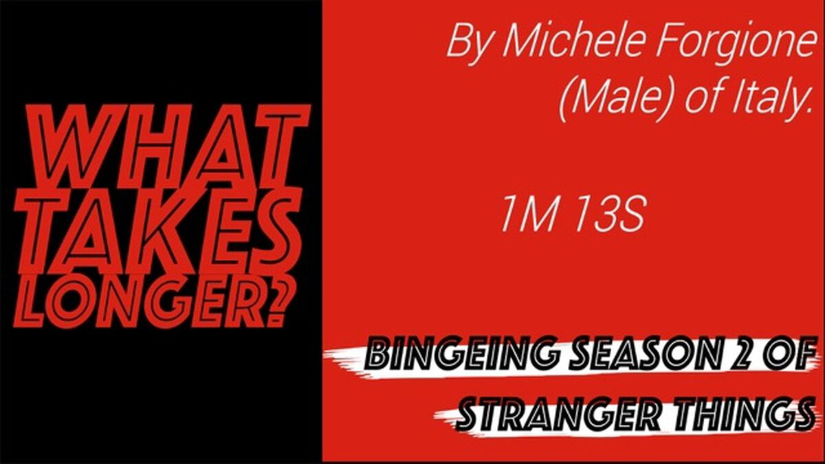 What Takes Longer? Stranger Things 2 Edition image number null