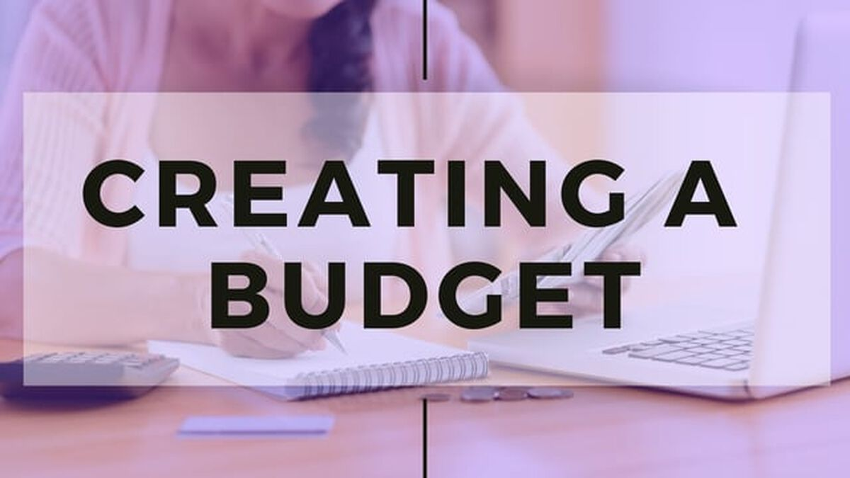 Creating a Budget image number null