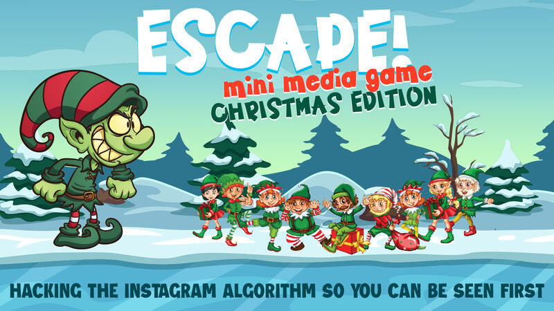 Insta-Escape Mini Game Christmas Edition