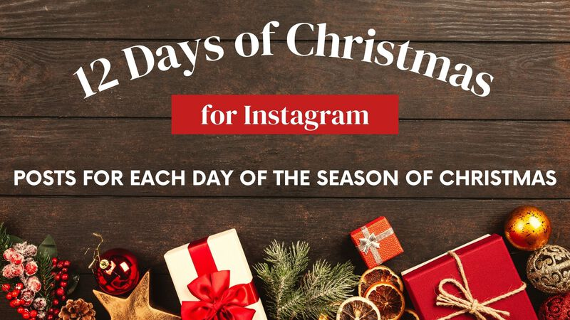 12 Days of Christmas for Instagram