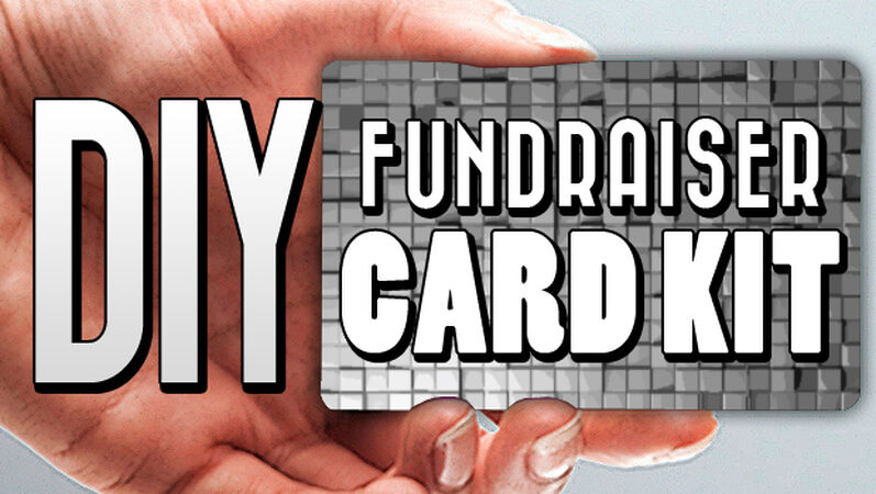 Do It Yourself Fundraising Cards
