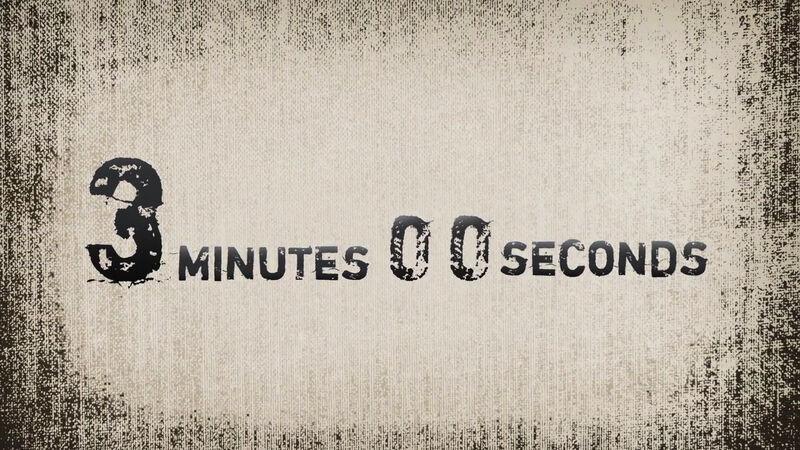 Grunge Countdown Clock