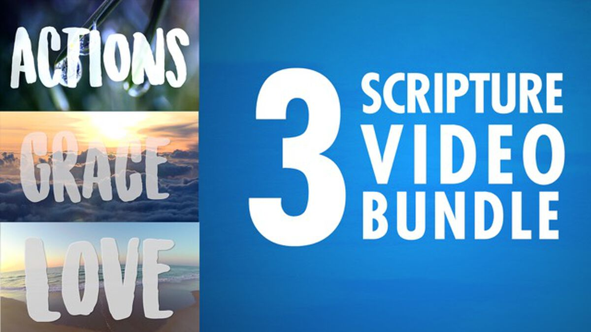 Three Scripture Video Bundle image number null
