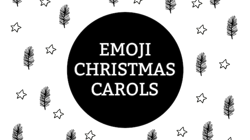 Emoji Christmas Carols