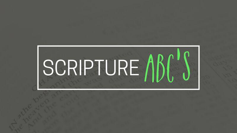 Scripture ABC's
