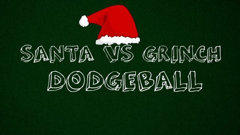Santa vs Grinch Dodgeball