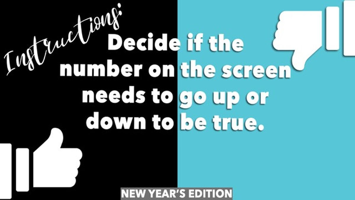 Up or Down: New Year Edition image number null