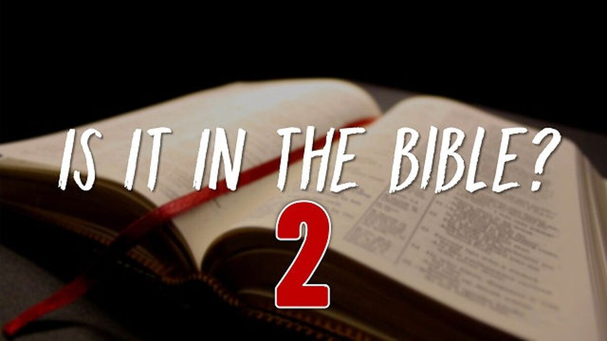 Is It in the Bible? Volume 2 image number null